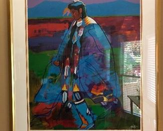 John Nieto Signed and numbered limited edition giclee