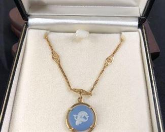 Wedgwood Porcelain Necklace