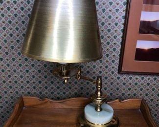 Brass-Style Lamp