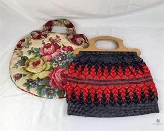 Vintage Cloth Handbags