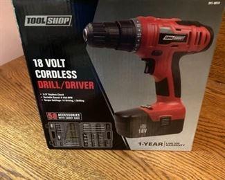 18 Volt Cordless DrillDriver