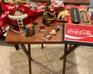 CocaCola assorted collectibles