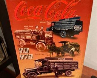 CocaCola circa 1996 delivery trucks