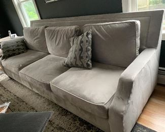 3 seater with  matching chair