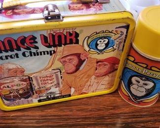 Vintage Lance Link lunchbox