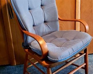Same chair with cushions