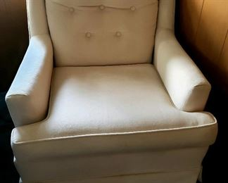 One of a pair of arm chairs