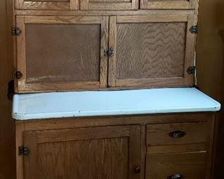 Hoosier cabinet in tip top condition