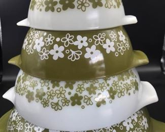 Pyrex Spring Blossom Mixing Bowl Set