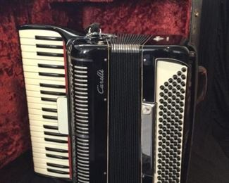Vintage Carelli Accordian Made in Italy