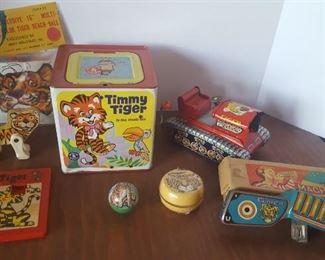 Vintage Tiger Toys