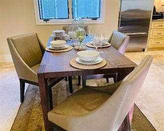West elm dining set