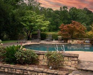 2 - Bohler Road Multi-Acre Equestrian Estate, pool furniture