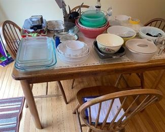 Kitchen table and chairs $200