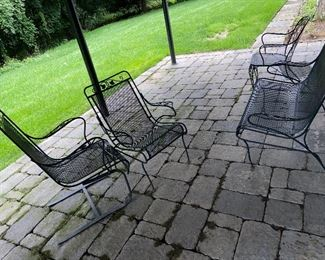 3 chairs Different style very cool $200 Bench $185