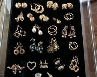 14k Earrings, Pendants & Cuff Links