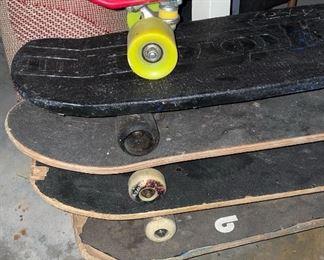 Vintage skateboard Including Nash