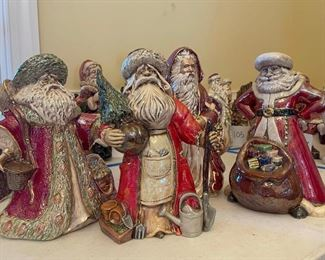 5 Unique Santa Figurines