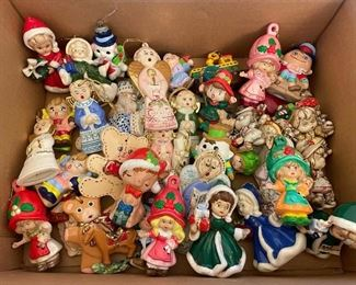 Assorted Colorful Christmas Ornaments