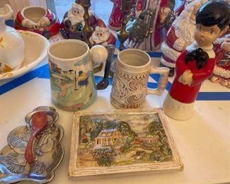 Assorted Ceramic Goodies