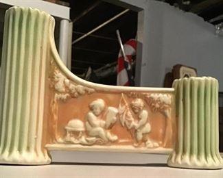 Roseville Donatello Bridge Vase