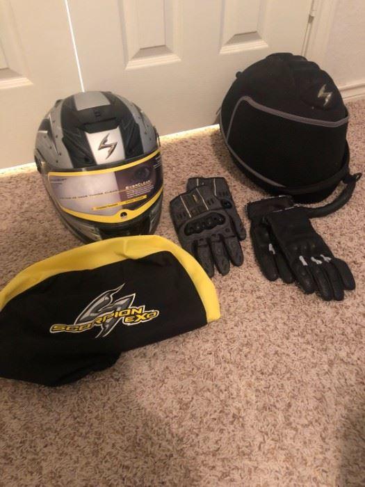 001 Scorpion Motorcycle Helmet
