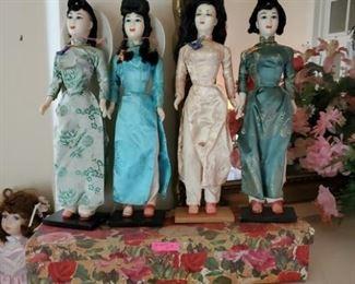 1960s Thailand dolls