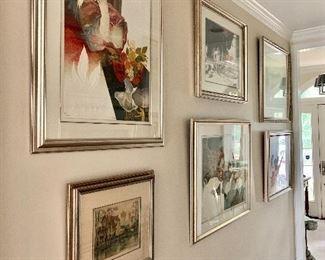 Original art and lithographs