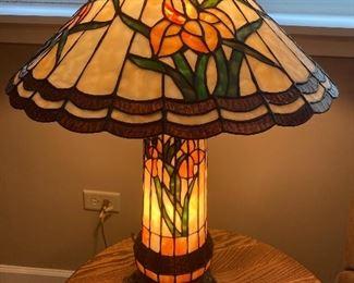 3-way Tiffany lamp