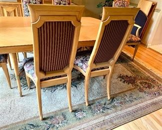 Tallback Armless Upholstered Chairs