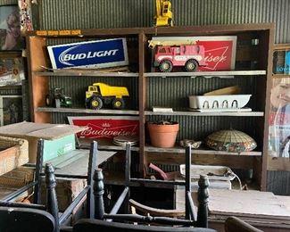 Beer Signs & Vintage Toys