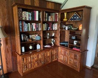 Custom Walnut Bookcase