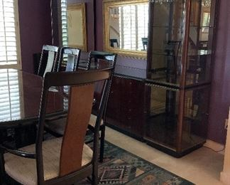 Stunning Drexel Heritage Dining Table and Chairs, Stunning Drexel Heritage Buffet/China Cabinets, Area Rug