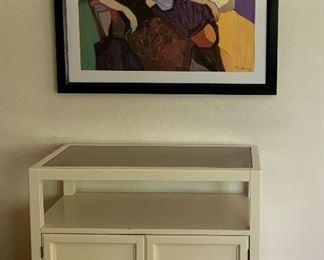 2 Door Storage Cabinet, Art