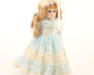 Dolls By Jerri Lissi German-Made Porcelain Doll