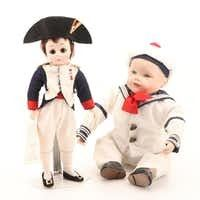 "Madame Alexander ""Napoleon"" and Yolanda's Picture Perfect Babies Dolls"
