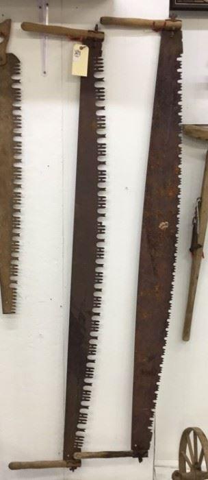 Antique Crosscut saws