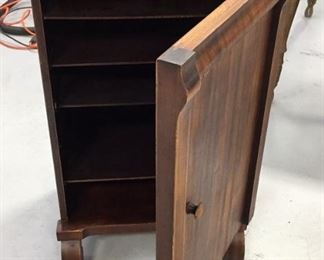Antique Sheet Music Cabinet
