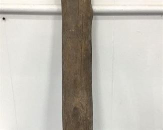 Primitive wood anchorweight