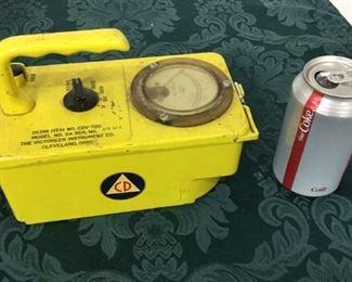 Vintage Civil Defense Radiation Detector