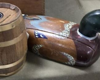 Duck Phone and Barrell bank