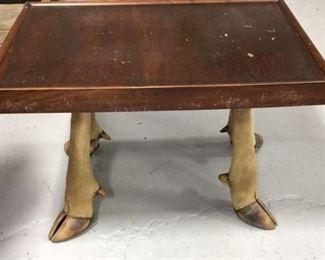 Moose leg table