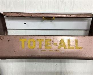 Vintage TotaAll tool box