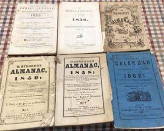 1800s Almanacs
