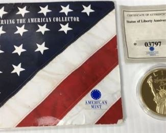 Statue of Liberty Anniversary coin
