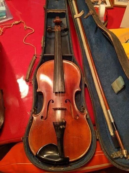 w.a. pfretzschner markneukirchen violin