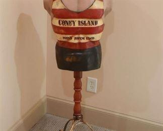VTG Coney Island bust decor