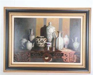 Stunning Original Oil on Canvas