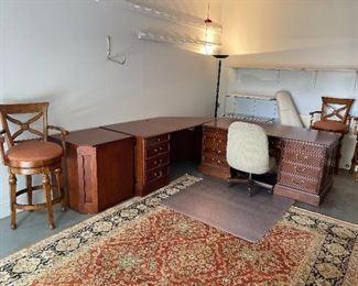 Executive desk by Sligh