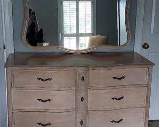 French Provencal Dresser/mirror